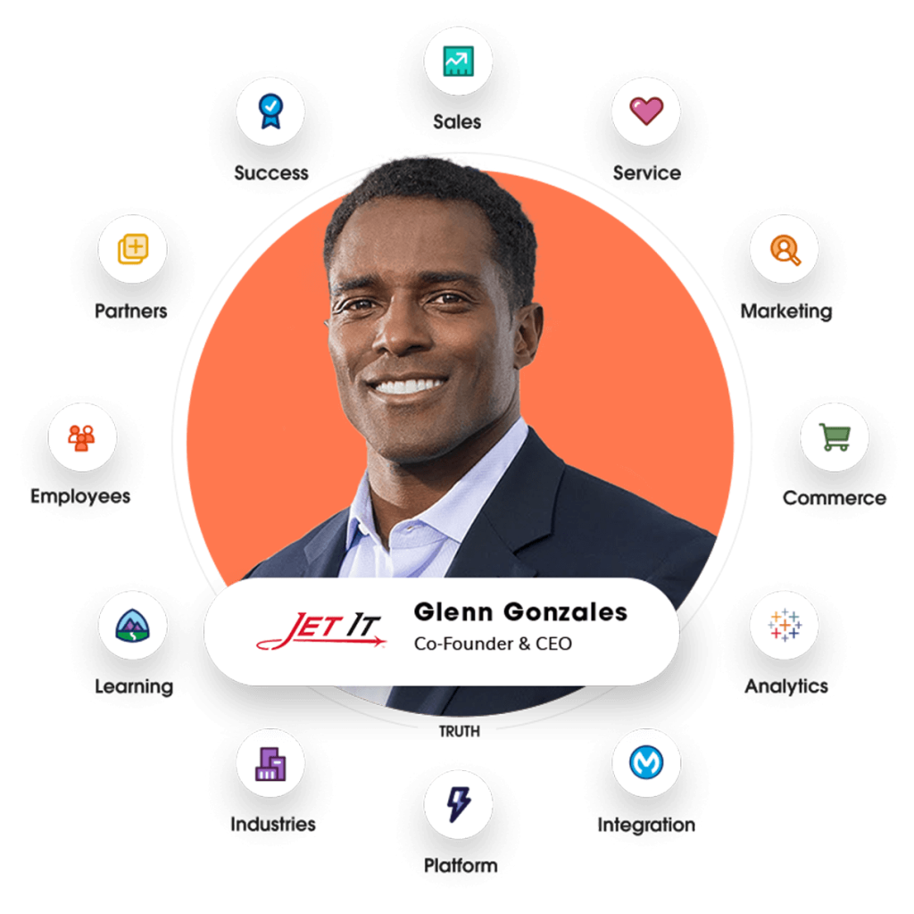 Photo of Glenn Gonzales, Co-Founder & CEO of Jet It.