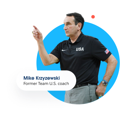 Former Team USA coach Mike Krizewski