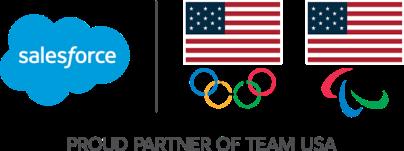 Salesforce, Proud partner of Team USA